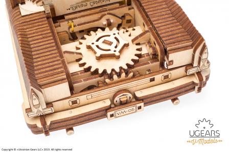Puzzle 3D Mecanic, Dream Cabriolet, 739 piese [6]