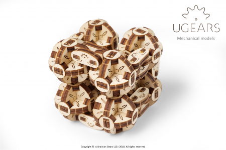 Puzzle 3D Mecanic, Flexi Cubs, 144 piese [1]