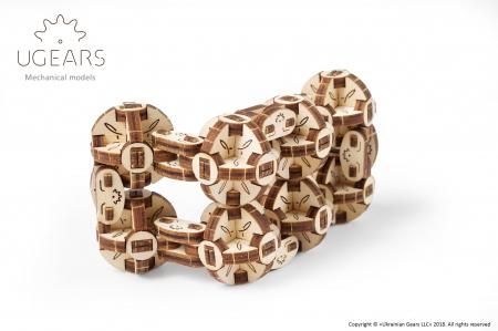 Puzzle 3D Mecanic, Flexi Cubs, 144 piese [2]