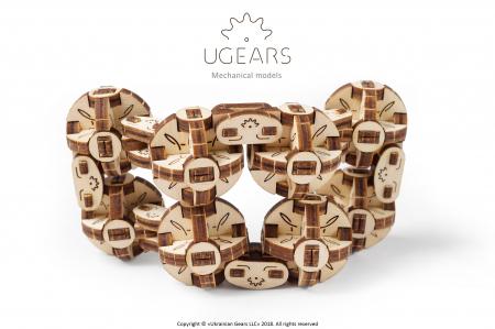 Puzzle 3D Mecanic, Flexi Cubs, 144 piese [3]
