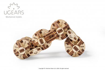 Puzzle 3D Mecanic, Flexi Cubs, 144 piese [4]