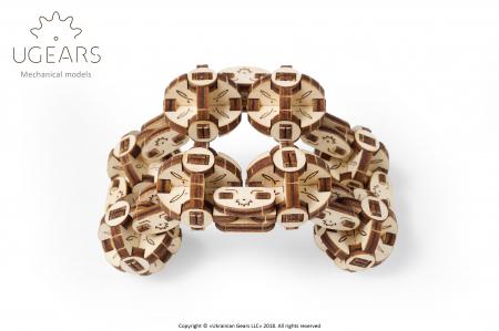 Puzzle 3D Mecanic, Flexi Cubs, 144 piese [6]