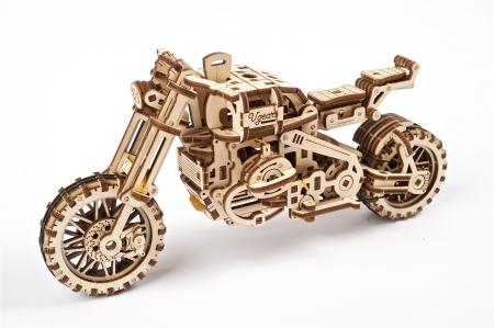 Puzzle 3D Mecanic, Motocicleta Scrambler UGR-10, 380 piese [1]