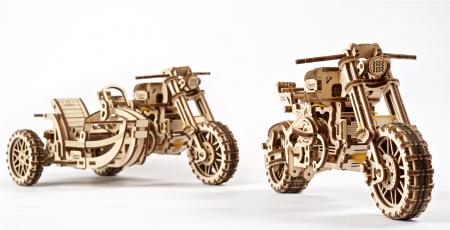 Puzzle 3D Mecanic, Motocicleta Scrambler UGR-10, 380 piese [17]