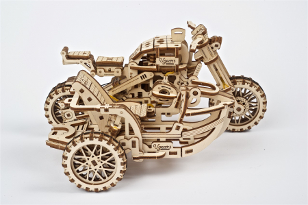Puzzle 3D Mecanic, Motocicleta Scrambler UGR-10, 380 piese [13]