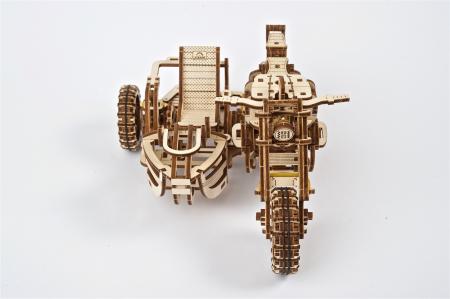 Puzzle 3D Mecanic, Motocicleta Scrambler UGR-10, 380 piese [14]