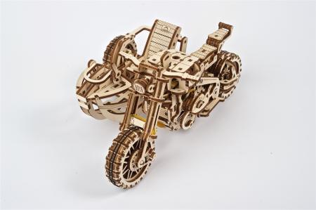 Puzzle 3D Mecanic, Motocicleta Scrambler UGR-10, 380 piese [15]