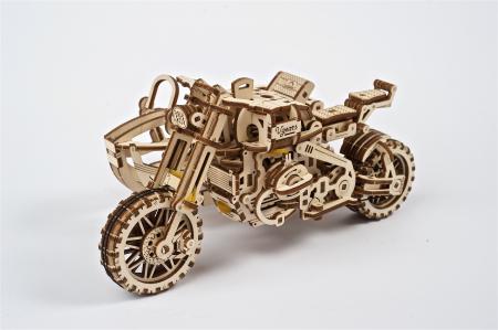 Puzzle 3D Mecanic, Motocicleta Scrambler UGR-10, 380 piese [2]