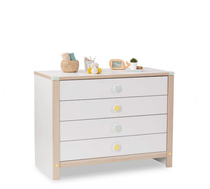 Comoda cu 4 sertare pentru copii, Colectia Montessori [0]
