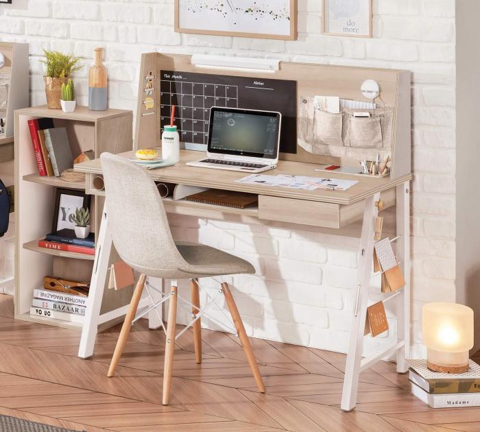 Masa de birou 114x76x64 cm, pentru copii si adolescenti Colectia Duo [1]