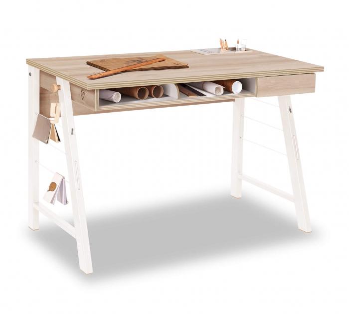 Masa de birou 114x76x64 cm, pentru copii si adolescenti Colectia Duo [0]