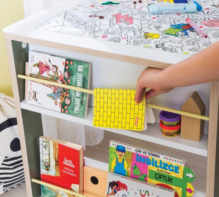 Masa de birou  pentru copii, Colectia Montessori [5]