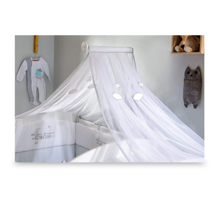 Baldachin pentru pat copii, colectia Cotton Baby [0]
