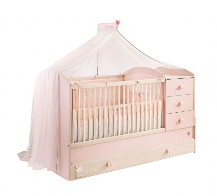 Baldachin pentru pat copii, colectia Happy [1]