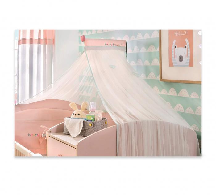 Baldachin pentru pat copii, colectia Happy [0]