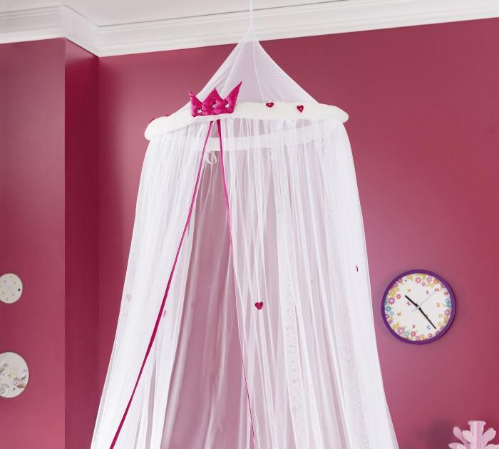 Baldachin pentru pat copii, colectia Lady [2]