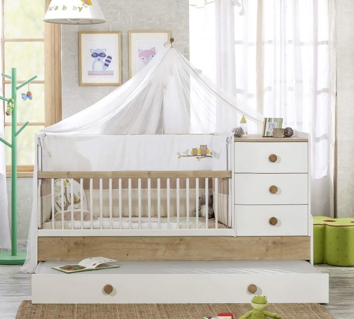 Baldachin pentru pat copii, colectia Natura Baby [3]