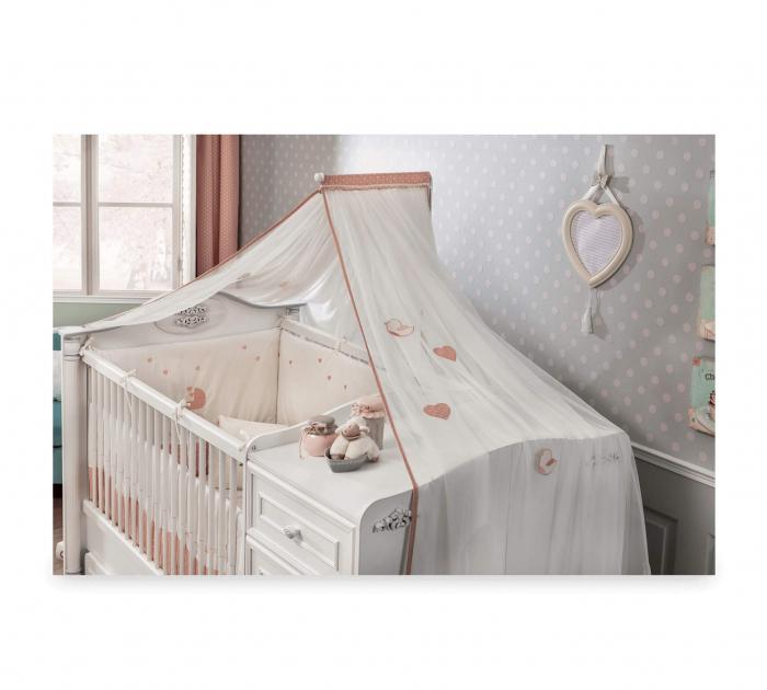 Baldachin pentru pat copii, colectia Romantic Baby [1]