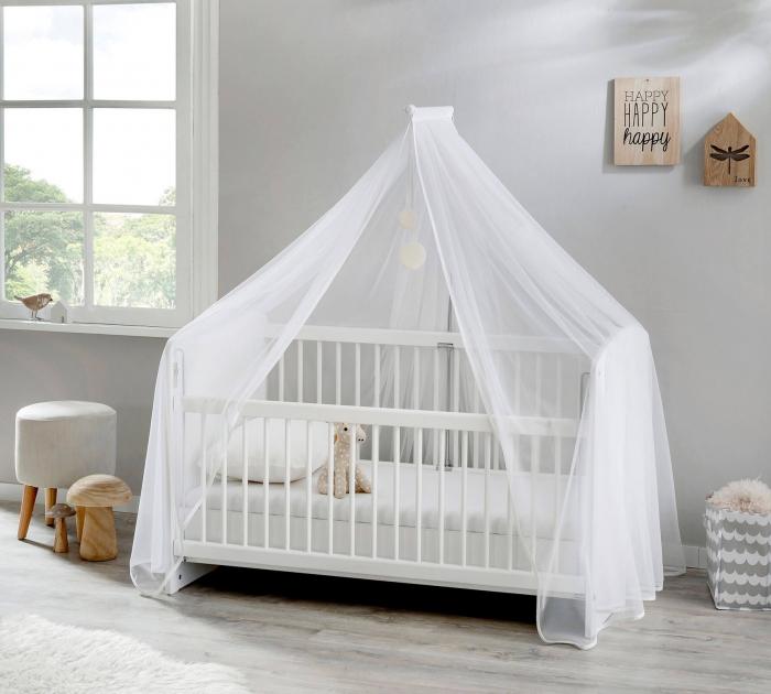 Baldachin pentru pat copii, colectia Simple Baby [0]