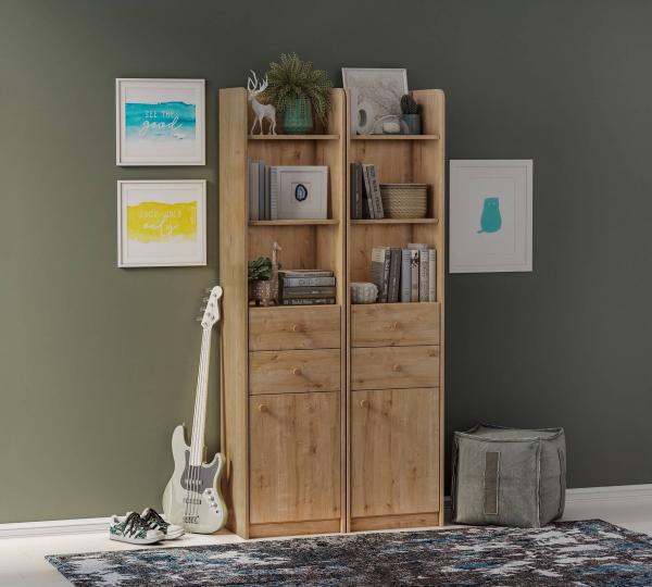Biblioteca cu sertare pentru camera copii Colectia Mocha [1]