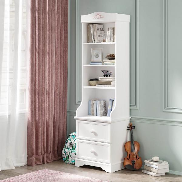 Biblioteca pentru camera fetelor Colectia Rustic White [1]