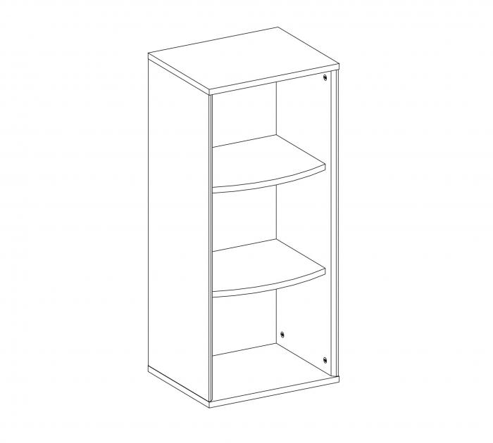 Modul dulap copii Colectia Duo 39x32x88 cm [2]