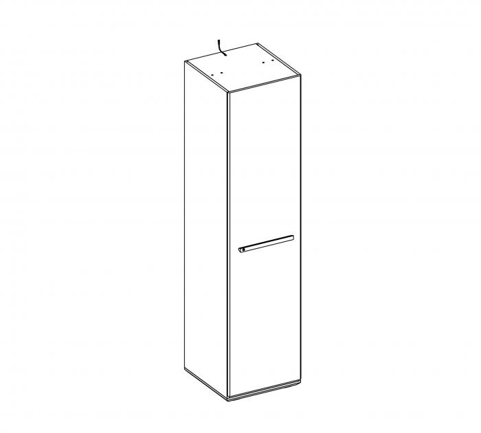 Modul dulap copii Colectia Duo 50x54x203 cm [2]