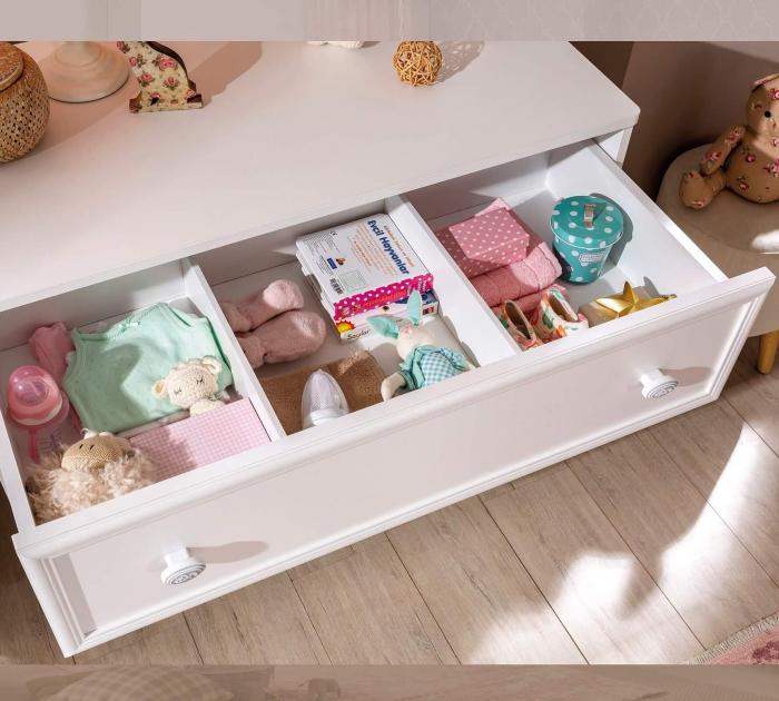 Comoda cu 3 sertare, pentru camera copii si adolescenti Colectia Romantica [4]