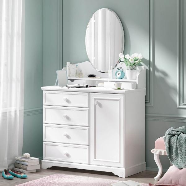 Oglinda pentru comoda Colectia Rustic White [1]