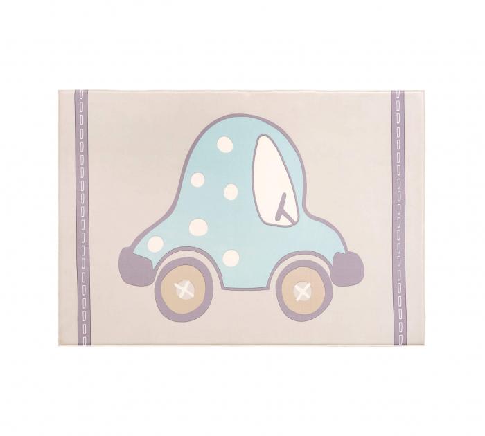 Covor pentru camera copiiSoft Cars Carpet 100x150 cm [3]