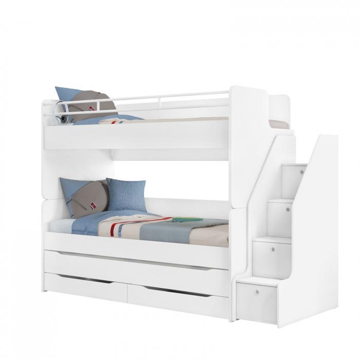 Scara pentru pat etajat Studio White [3]