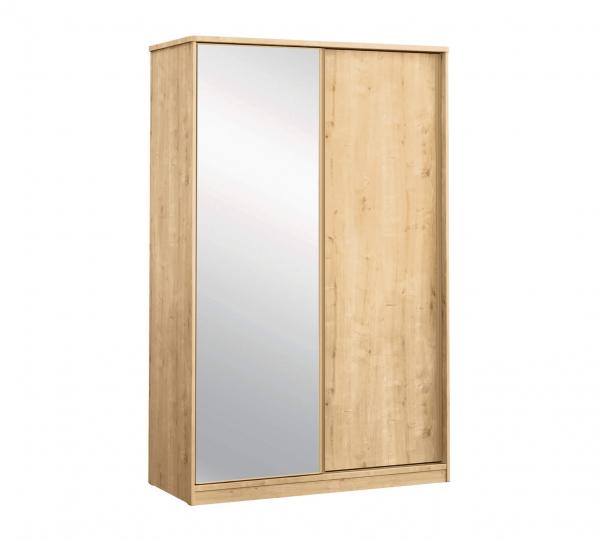 Dulap cu usi glisante si oglinda pentru camera copii, Colectia Mocha [0]