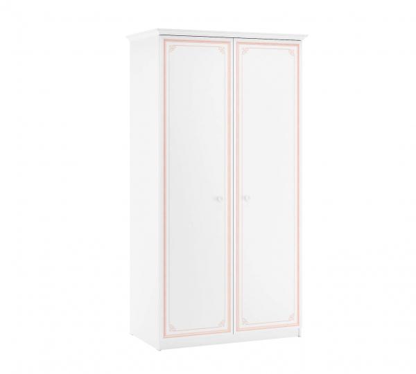 Dulap cu 2 usi pentru camera fetelor, Colectia Selena Pink [0]