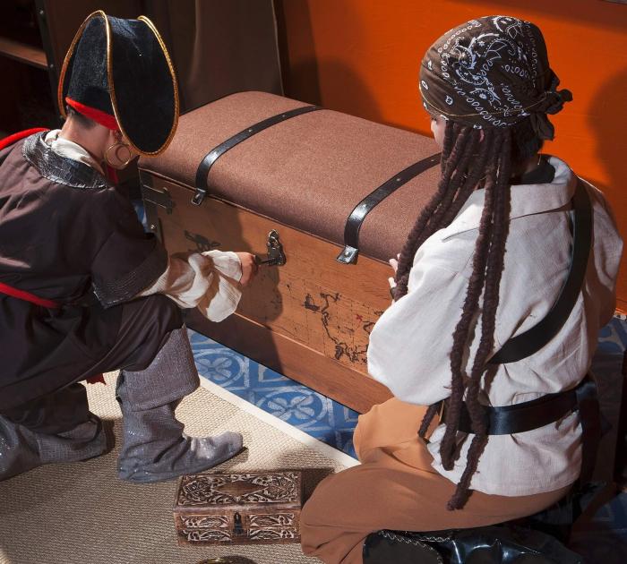 Lada de depozitare, pentru camera baieti, Colectia Pirate [1]