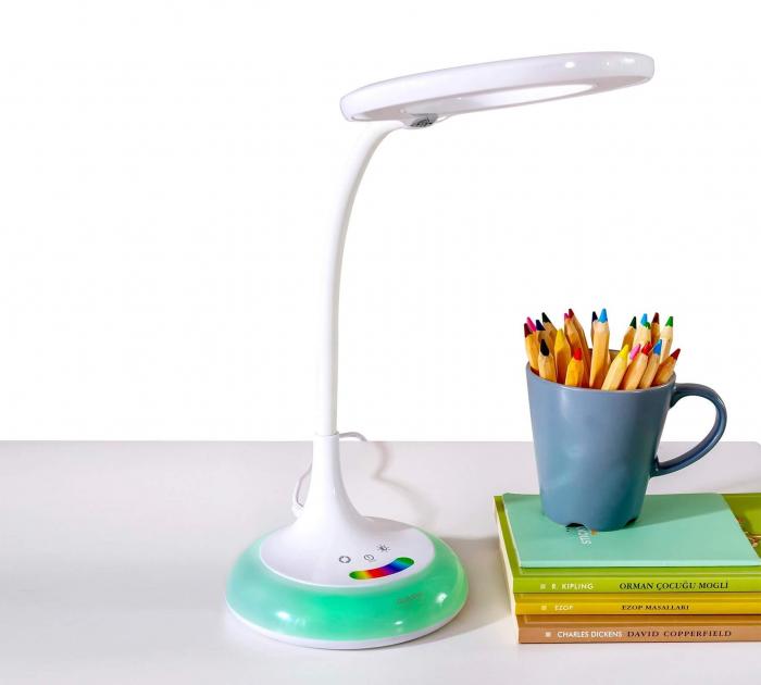 Lampa de birou pentru copii Rainbow White [5]