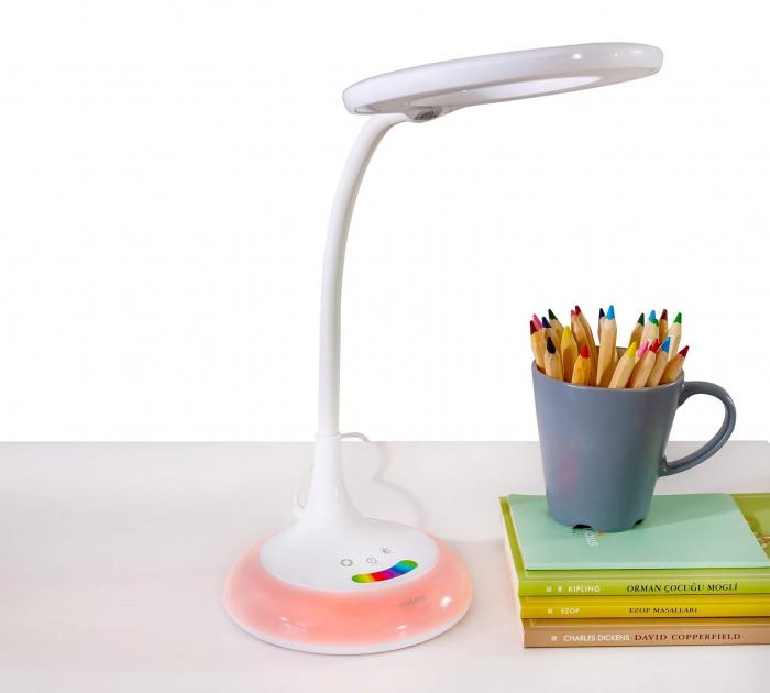 Lampa de birou pentru copii Rainbow White [4]