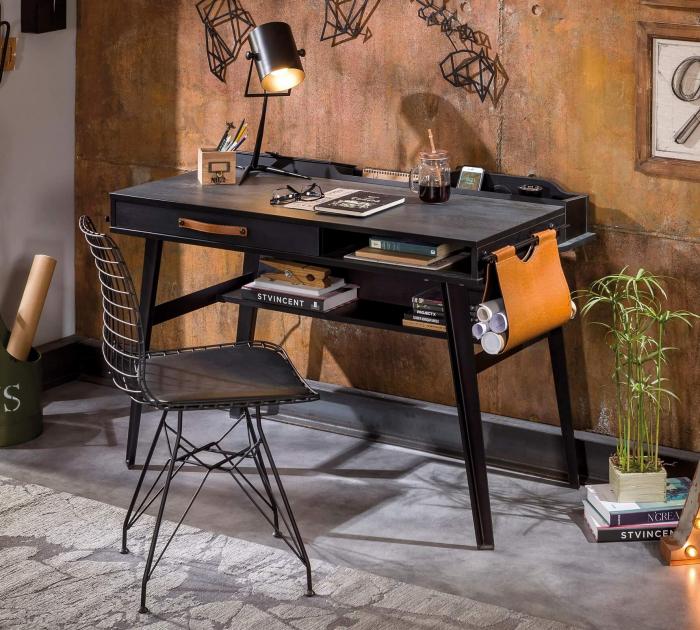 Masa de birou mic, pentru adolescentilor Colectia Dark Metal [1]