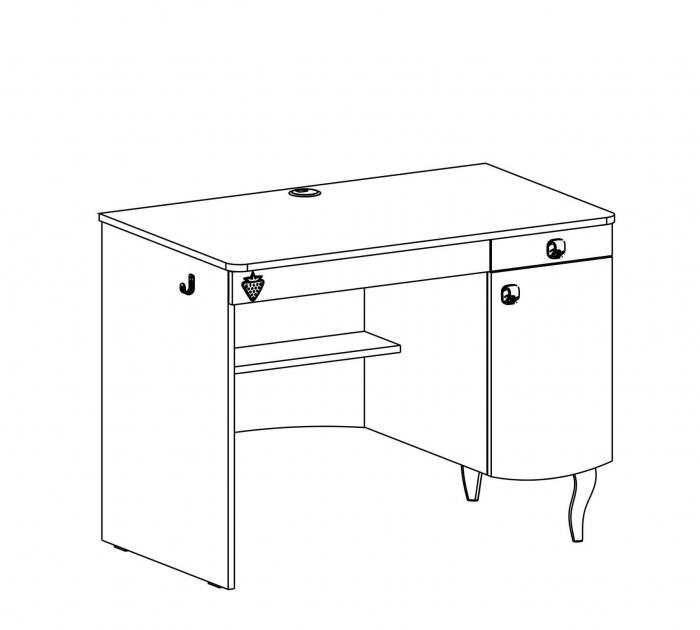 Masa de birou, pentru camera fetelor Colectia Yakut [6]
