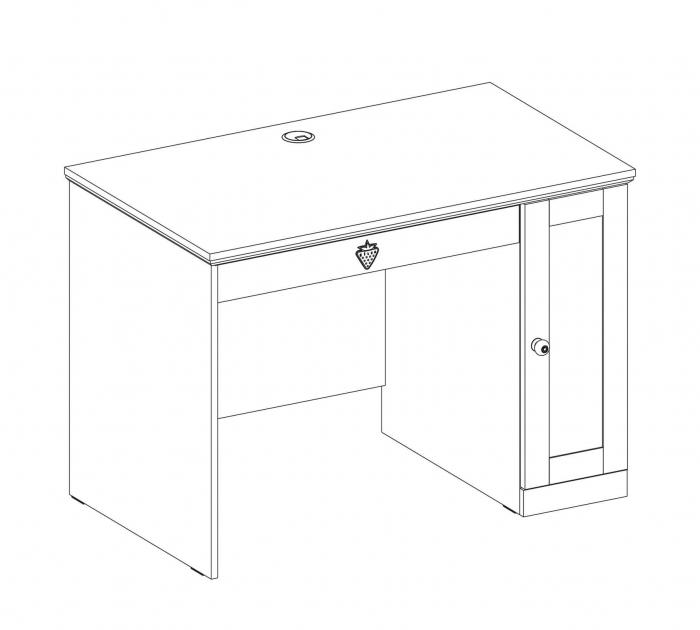 Masa de birou, pentru copii si tineret Colectia Flower [2]