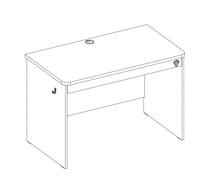 Masa de birou, pentru copii si tineret Colectia Mocha [6]