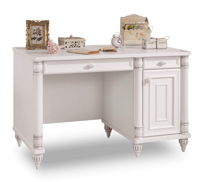 Masa de birou, pentru copii si tineret Colectia Romantic, 117x62x75 cm [0]