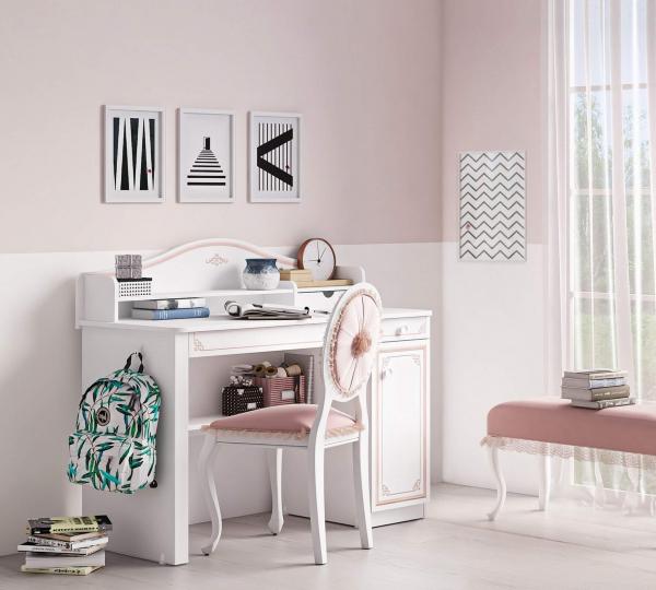Masa pentru camera fetelor, Colectia Selena Pink [3]
