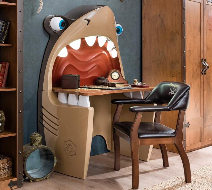 Masa rechin, pentru camera baieti, Colectia Pirate [1]