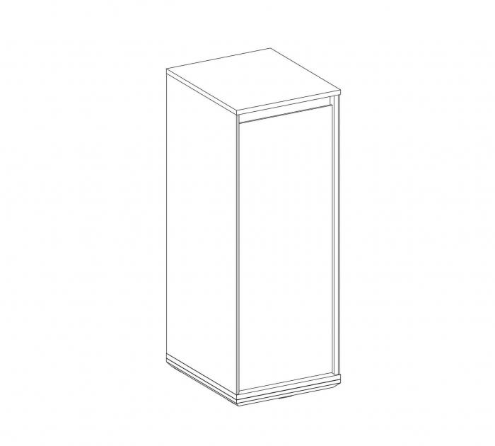Modul dulap copii Colectia Duo 39x46x104 cm [2]