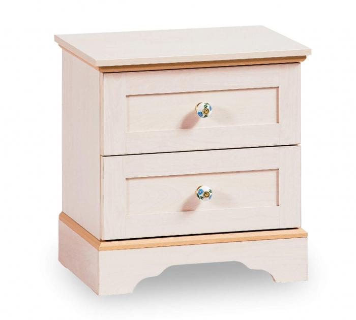 Noptiera cu 2 sertare, pentru copii si tineret Colectia Flora [0]