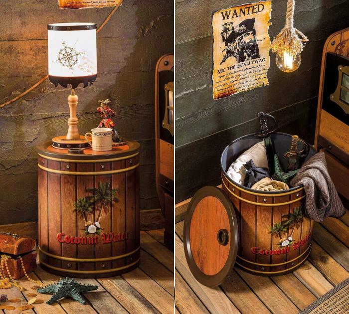Noptiera, pentru camera baieti, Colectia Pirate [1]