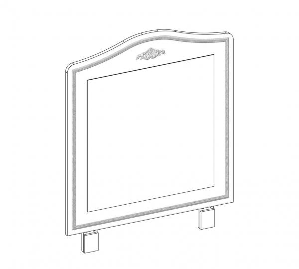 Oglinda pentru comoda Colectia Selena Pink [2]