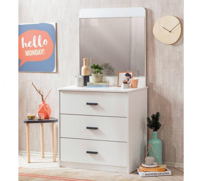 Oglinda pentru camera copii si adolescenti Colectia White [1]