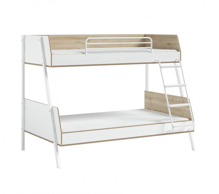 Pat etajat pentru copii, Colectia Modera (90x 200-120x200 cm) [0]