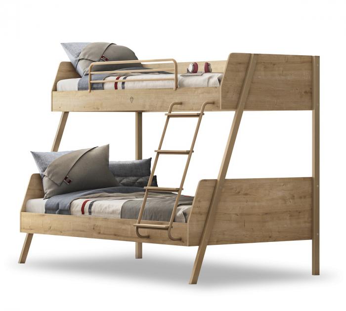 Pat etajat pentru copii, Colectia Mocha (90x 200-120x200 cm) [0]